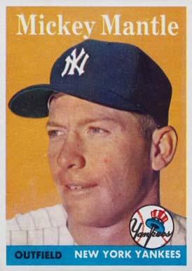 Topps 1958 Baseball Cards Bbc Emporium