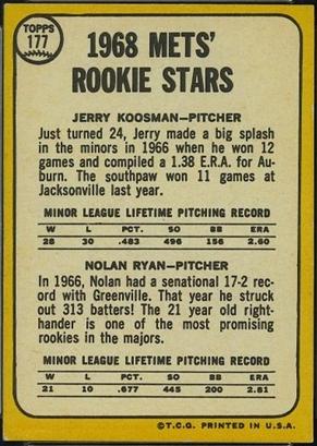 Topps 1968 Baseball Cards Bbc Emporium
